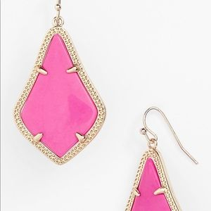 Kendra Scott Pink Alex Drop Earrings